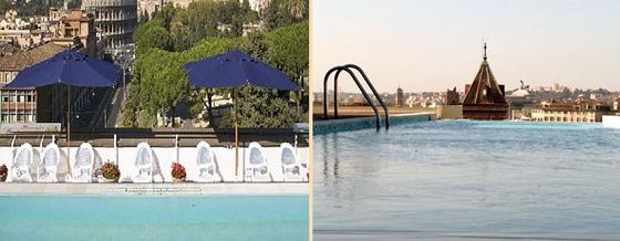 hoteller i rom med swimmingpool