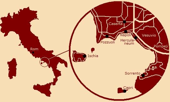 Rom Guide Dk Napoli Bugten
